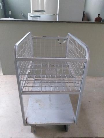 Carrinho supermercado / abastecimento alto - Foto 2