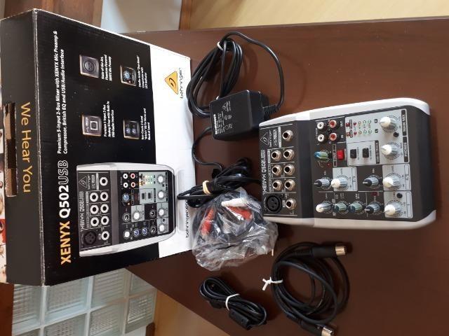 Mesa de som Xenyx Q502usb Behringer - Foto 2