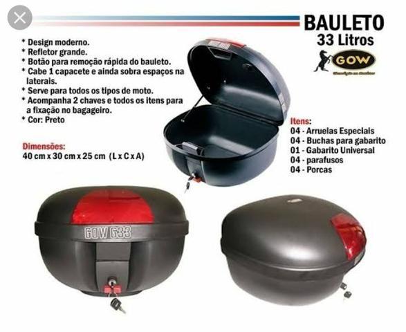 Promoção bauleto gow 33lt