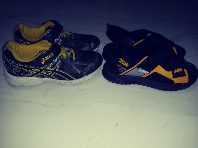 Vendo conjunto sandália e tênis
