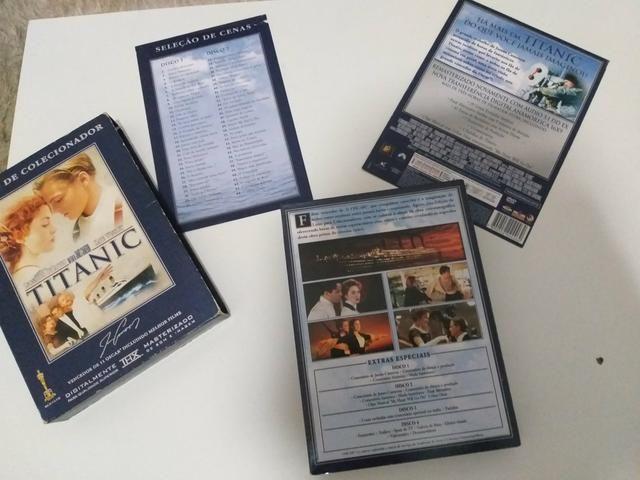Dvd Titanic Edição Colecionador - Foto 5