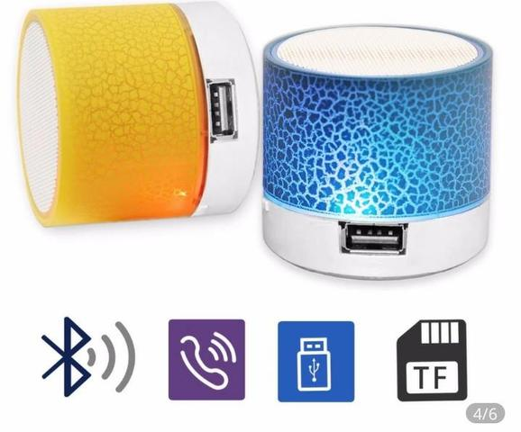 Caixa de Som Iluminada Bluetooth Android - Foto 3