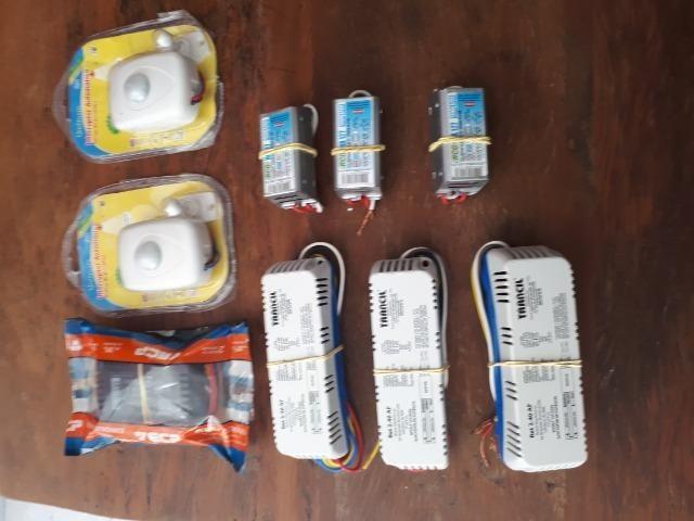 Sensor Presenca e Reatores Elétricos