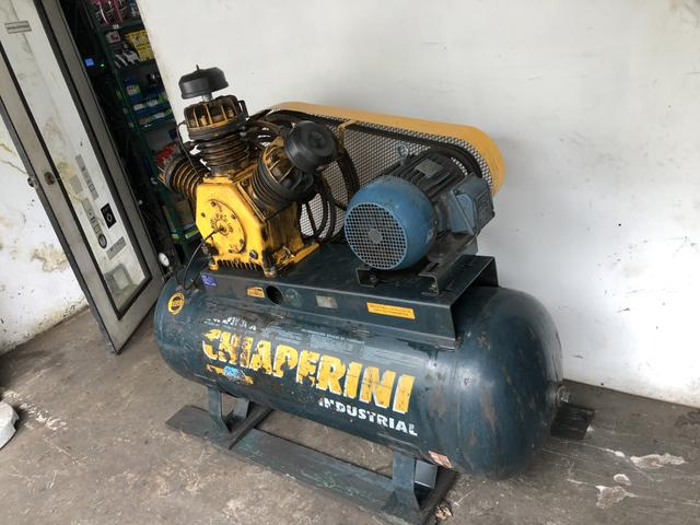 Compressor 7,5 hp 10 cv 40 pes - Foto 3