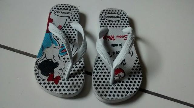 Lote de sapatos infantil 26 - Foto 5