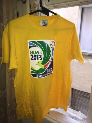 Camiseta Copa das Confederações 2013