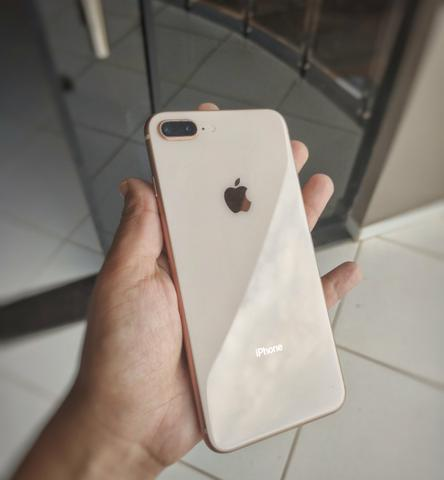 IPhone 8 Plus Rose 64 GB (5 meses de uso) - Foto 2
