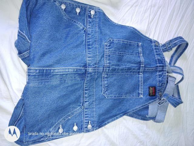 Jaqueta e Macacão Jeans Levi's Masculino Original - Foto 2