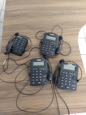 Headsets Intelbras e elgin - Foto 3