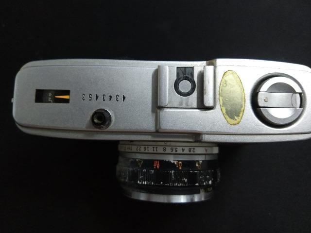 Câmera olimpus trip 34 relíquia funcionando - Foto 5