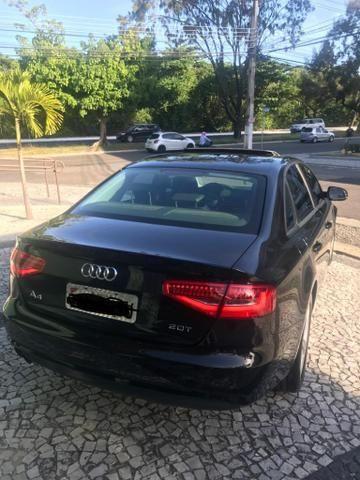 Vendo Audi A4 sedã 2.0 TFSI 2014 c/Teto Solar - Foto 4