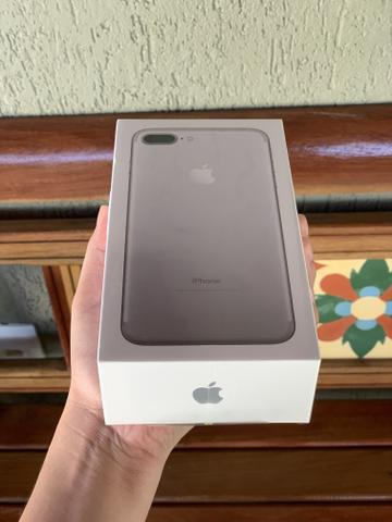 IPhone 7 Plus 32gb- Lacrado c/ nota fiscal, 1 ano de garantia Apple