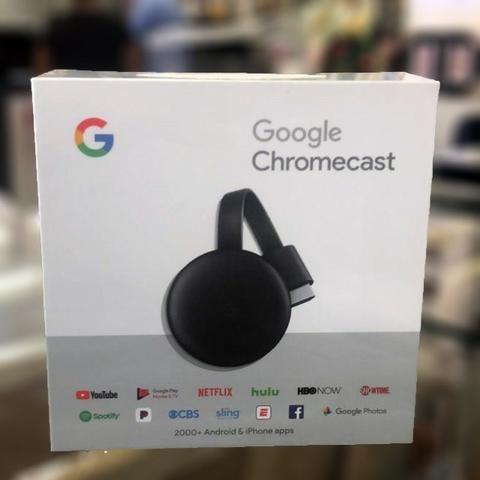 Chromecast 3 Edicao 2018/19 Original Lacrado