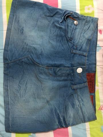 Saia jeans Ellus