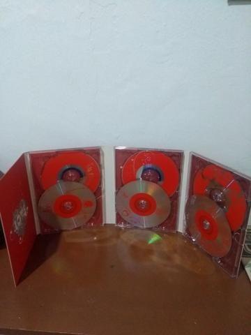 Box com 6 cd's Românticos nunca usado
