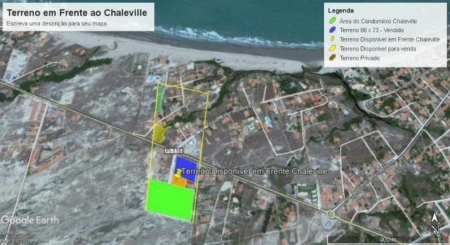 Terreno na Praia do Coqueiro Luis Correia Chaleville