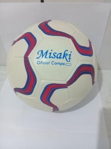 Kit com 01 camisa esportiva + 01 Bola de futebol de campo Misaki ... 62c017923c23c