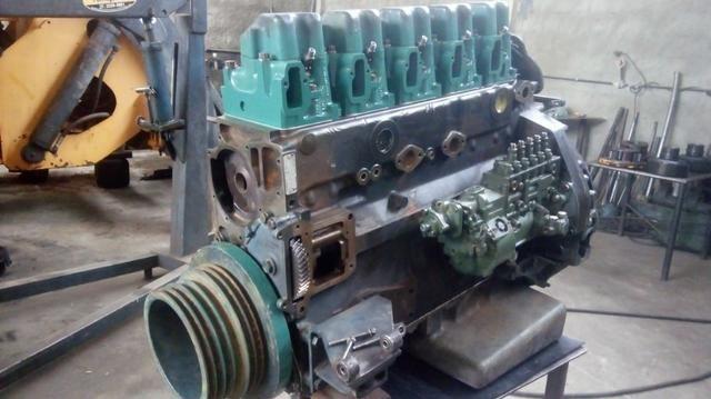 Motor MB O400 449 5 cilindros - Foto 5