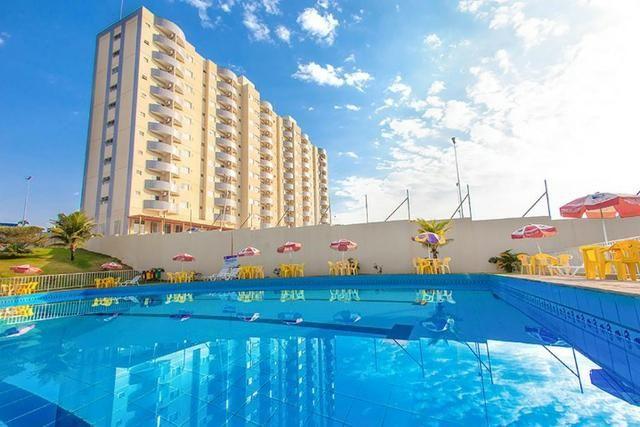 Flat no centro de Caldas Novas Golden Dolphin 24 horas - Foto 7