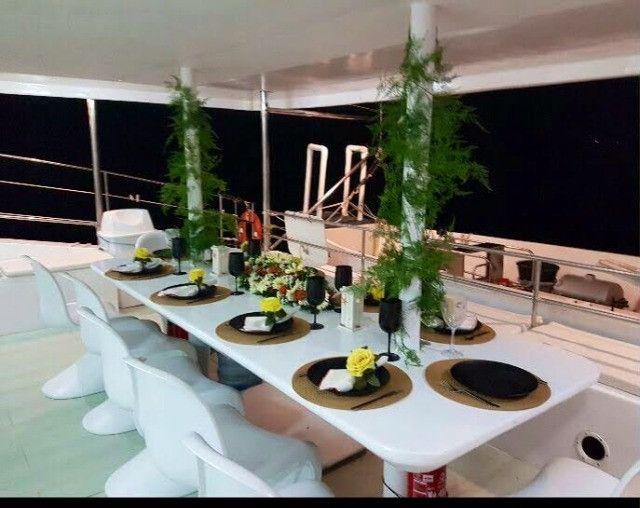 Lindo Barco Catamarã - Foto 5