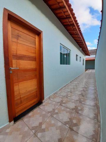 Casa individual 2 dorm 4 vagas fundo coberto p/ churrasqueira - AC carro e financ - Foto 16