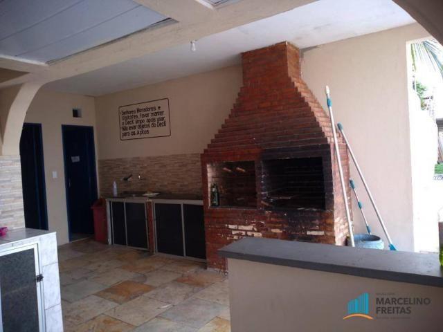 Apartamento com 3 dormitórios para alugar, 80 m² por R$ 859,00/mês - Icaraí - Caucaia/CE - Foto 7