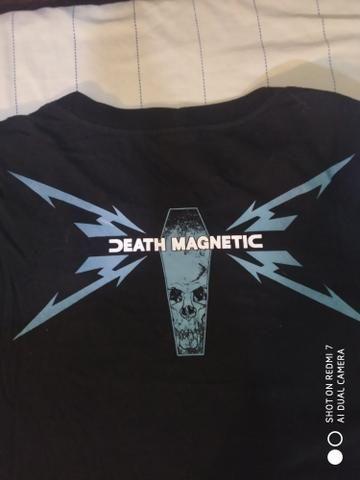 Camisas de rock Motorhead e Metallica 2 por 70$ - Foto 2