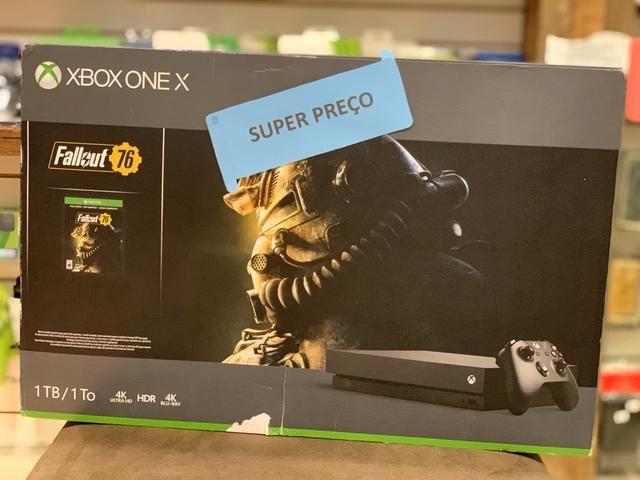 Console novo Xbox one x