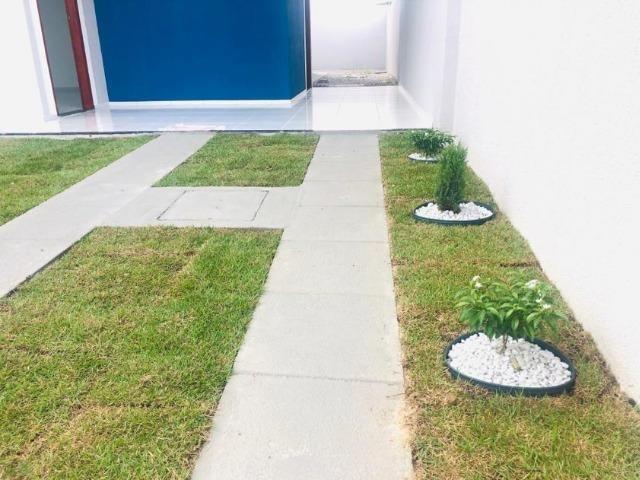 WS casa nova casa com 2 quartos, 2 banheiros em condominio - Foto 3