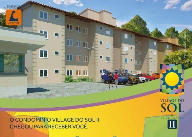 09-Village do Sol 2, apartamento na Estrada da Maioba - Foto 6