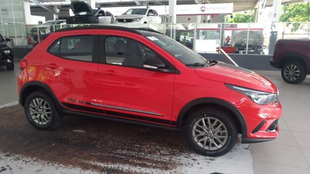 Fiat 0KM Argo Trekking 2021/2021 Aut. 1.8 - Vermelho   Oferta: R$ 82.540