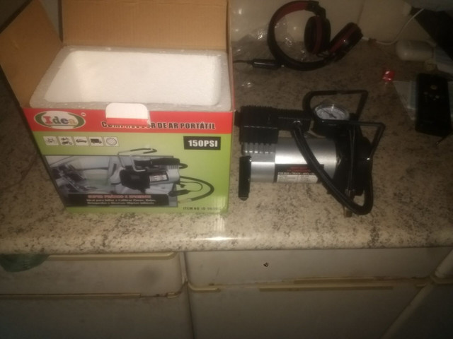Mini compressor portátil novo potente - Foto 4