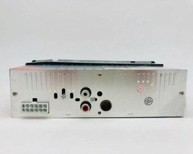 Promoção! Radio Automotivo Com Bluetooth Sd Mp3 Usb 45wx4 Com Viva Voz - R$ 134,99 - Foto 4
