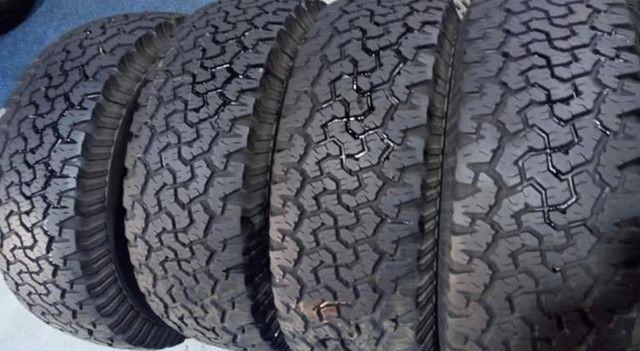 ? pneus semi novos 255/50-20 - Foto 18
