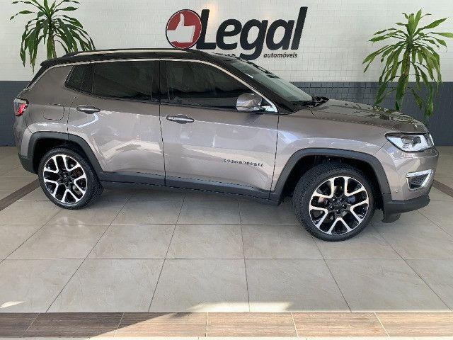 Jeep Compass 2019 2.0 Limited Flex C/Teto Solar - Foto 2