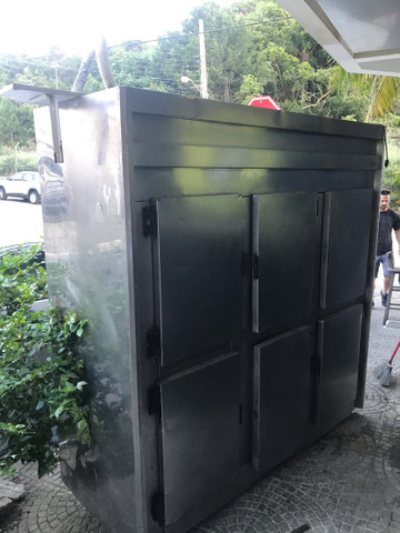 Geladeira freezer Inox 6 portas  - Foto 6
