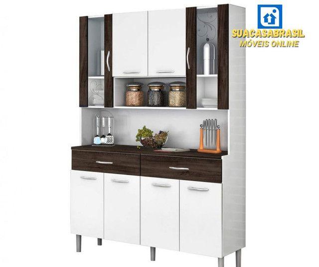 Armário de Cozinha 8 portas( NOVO NA CAIXA) - Foto 3