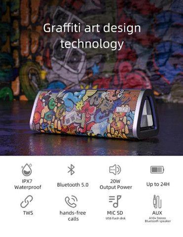Caixa De Som bluetooth  Mifa 20w Ipx7 A Prova Dagua 100% Portátil Original importado  - Foto 5