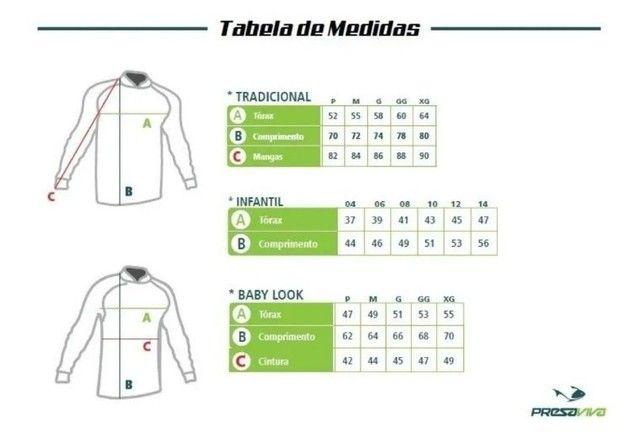 Kit igual 3 camisetas de Pesca Família para comprar leia a descrição do anúncio. - Foto 4