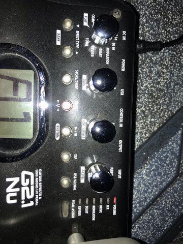 Vendo uma ótima pedaleira de marca zoom G2.1NU, semi nova sem marcas de uso  - Foto 6