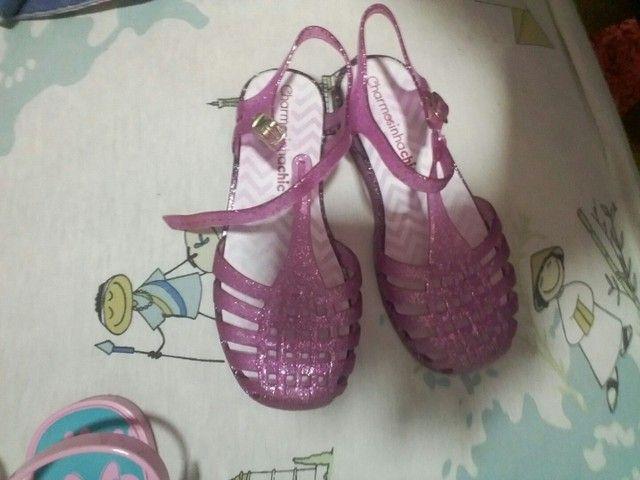 30$ linda sandalia charmosinha chic T. 27/28