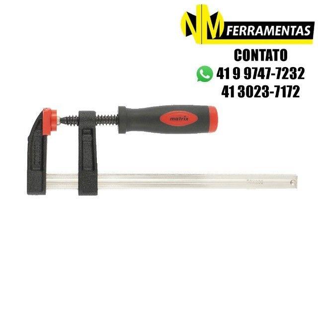 Grampo Para Carpinteiro Tipo Sargento 8 Pol (200mm) Mtx