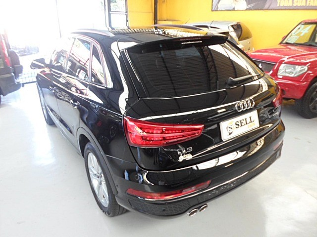 Audi - Q3 Black Edition 1.4 TFSI 2018 Flex c/ Teto Solar  - Foto 10