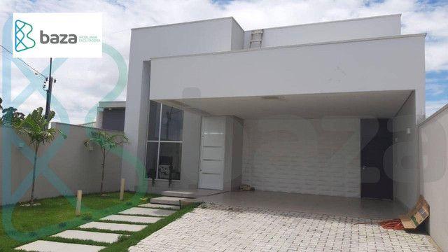 Casa com 3 dormitórios sendo 2 suítes à venda, 183 m² por R$ 830.000 - Residencial Aquarel