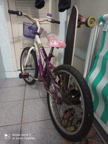 Bike feminina para criança ARO20 - Foto 4