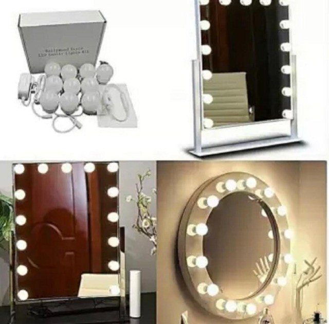 Luz de Espelho Camarim Led Ring Ligth