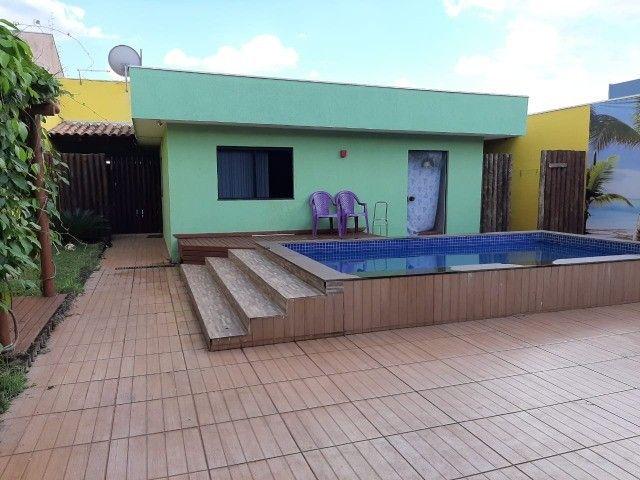 Linda Casa com Piscina Vila Taquarussu Próximo Shooping Norte Sul - Foto 8