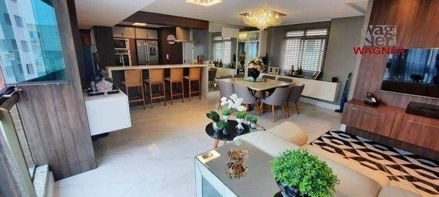 Apartamento com 3 dormitórios à venda, 116 m² por R$ 939.000,00 - Balneário - Florianópoli