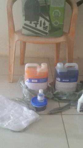 Vendesse kit completo  para lava jato - Foto 4