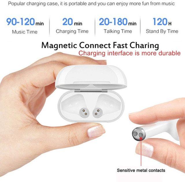 ? ÚLTIMA UNIDADE ?Macaron fones  inPods i12 TWS Bluetooth - Foto 3